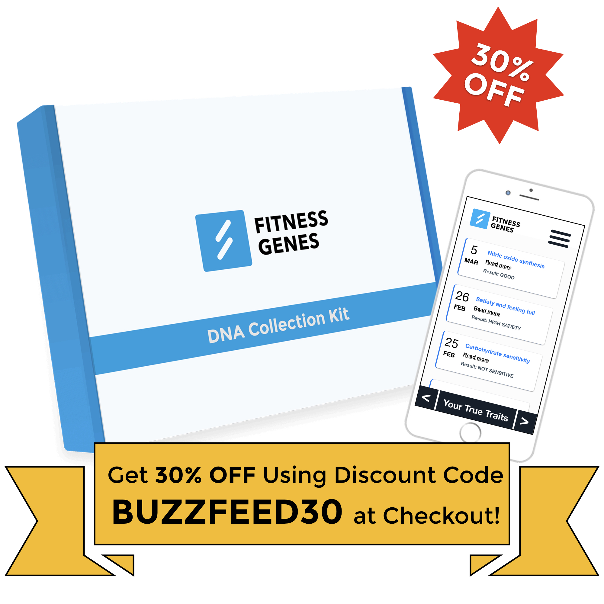 DNA Testing For Fitness & Weight Loss - FitnessGenes®
